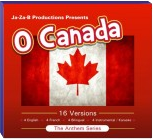 16 Versions of O Canada